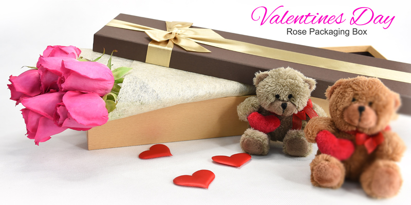 Valentine Rose Box